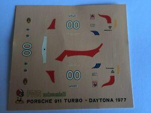 PORSCHE-911-TURBO-DAYTONA-1977-DECALS-decal-1-43