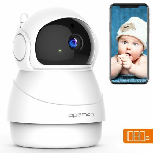 APEMAN Wireless Camera 1080P WiFi IP Surveillance Home Security Camera Two-Way A