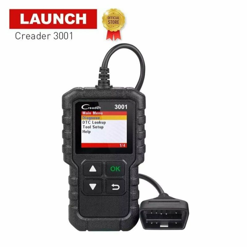 LAUNCH X431 CR3001 Vehicle OBD2 Scanner
