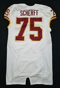 Details about #75 Brandon Scherff of Washington Redskins NFL Locker Room Game Issued Jersey