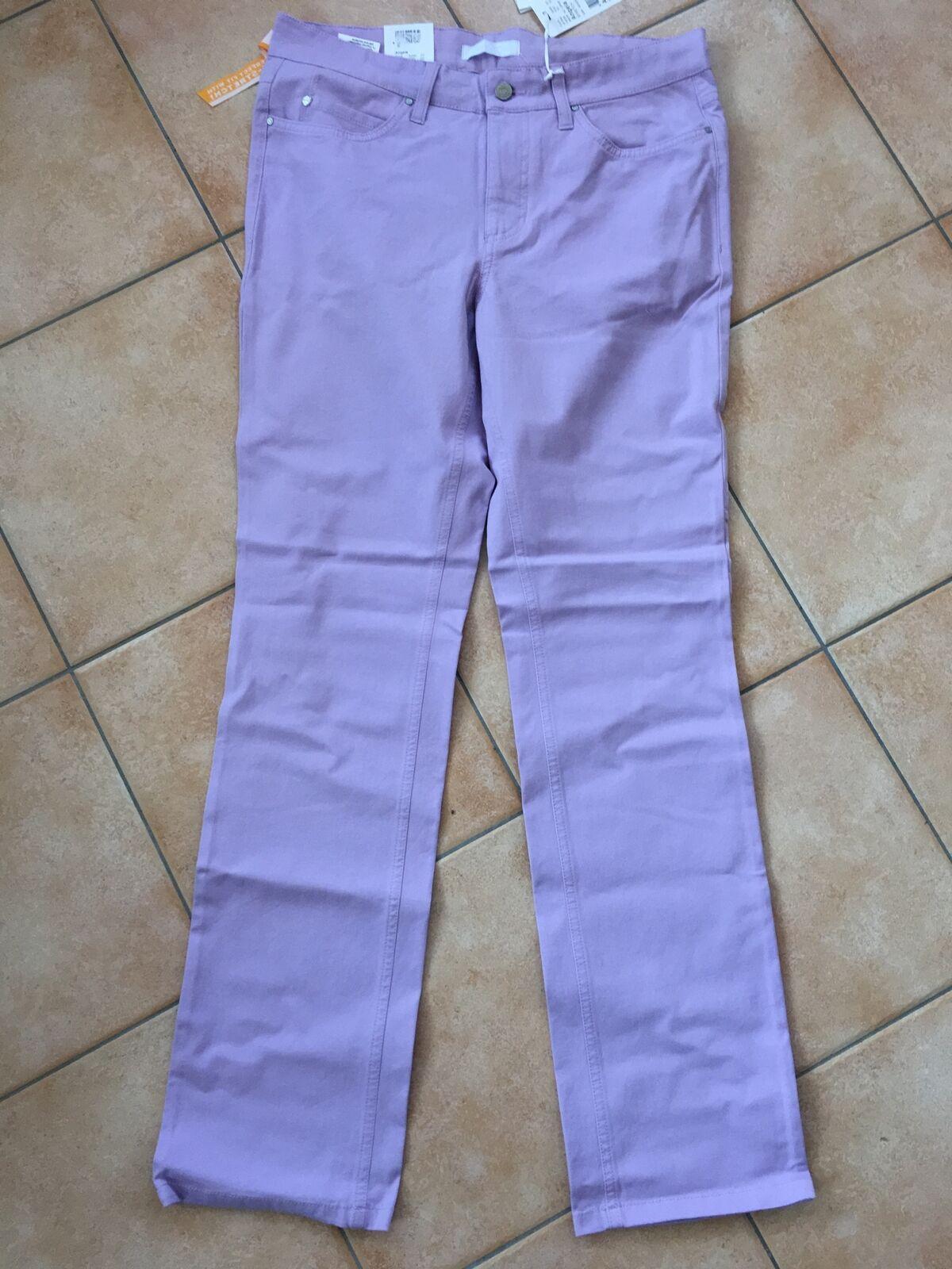 Mac Angela Stretch Jeans purplec Ladies' Pants Bi-Stretch New Trousers 0110-03-711