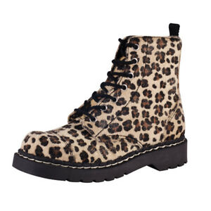7 T Anarchic Natural 38 uk Donna T2181 Faux K Leopard Fur Eye Boot 5 Eu U cqIpIyTg