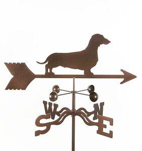 Dog-Dachshund-Weathervane-Vane-Weiner-Doxie-Complete-w-Choice-of-Mount