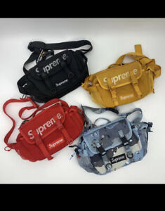 Supreme-Unisex-SS20-Waist-Bag-4-Colors-Red-Blue-Black-Yellow