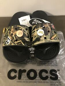 New Luke Combs X Crocs Realtree Slides Sandals Camo Men S Size 11 Rare Ebay
