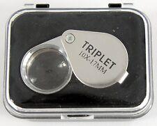 Magnifier - Folding Loupe Magnifier 10X 17mm Diam. PRO (FL10XPM)