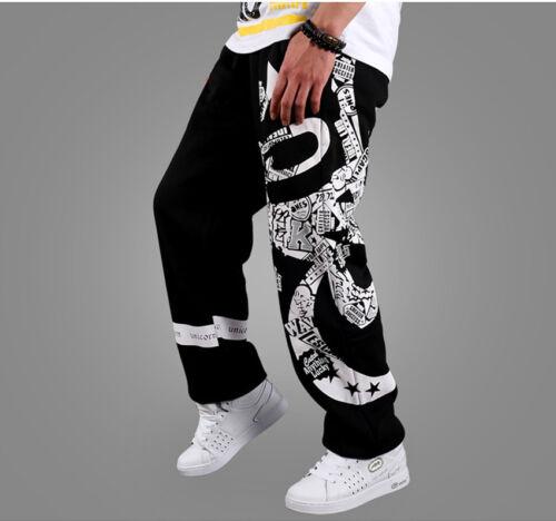 New HIP HOP Mens SkateBoarding SweatPants Pure cotton Pants trousers