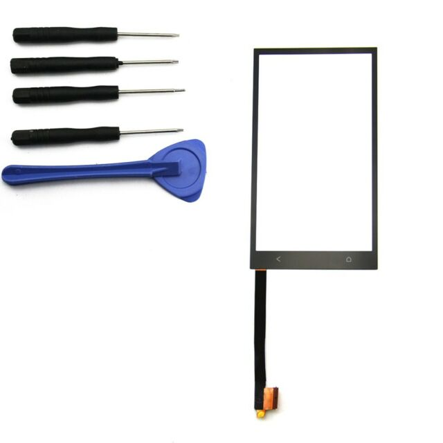 Touch Screen Digitizer Front Glass Repair Replacement For HTC One M7 +Tools