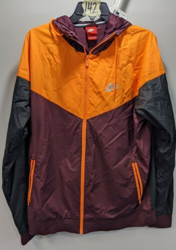 Nike (727324-681) Windrunner Track Jacket Maroon/o