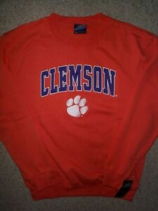 Clemson-Tigers-NCAA-Maglia-Felpa-Adulto-UOMO-Uomo-L-LG-LARGE