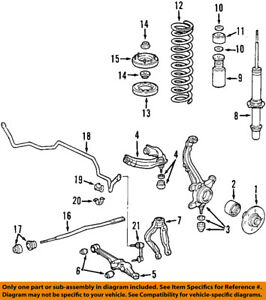 honda oem 98 02 accord front suspension radius arm 51362s84a01 ebay rh ebay com 2005 honda accord front suspension diagram honda accord front suspension diagram