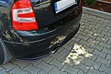 Diffusor ansatz für Skoda Fabia RS 1 Heckansatz hinten Heck DTM FLap S Splitter