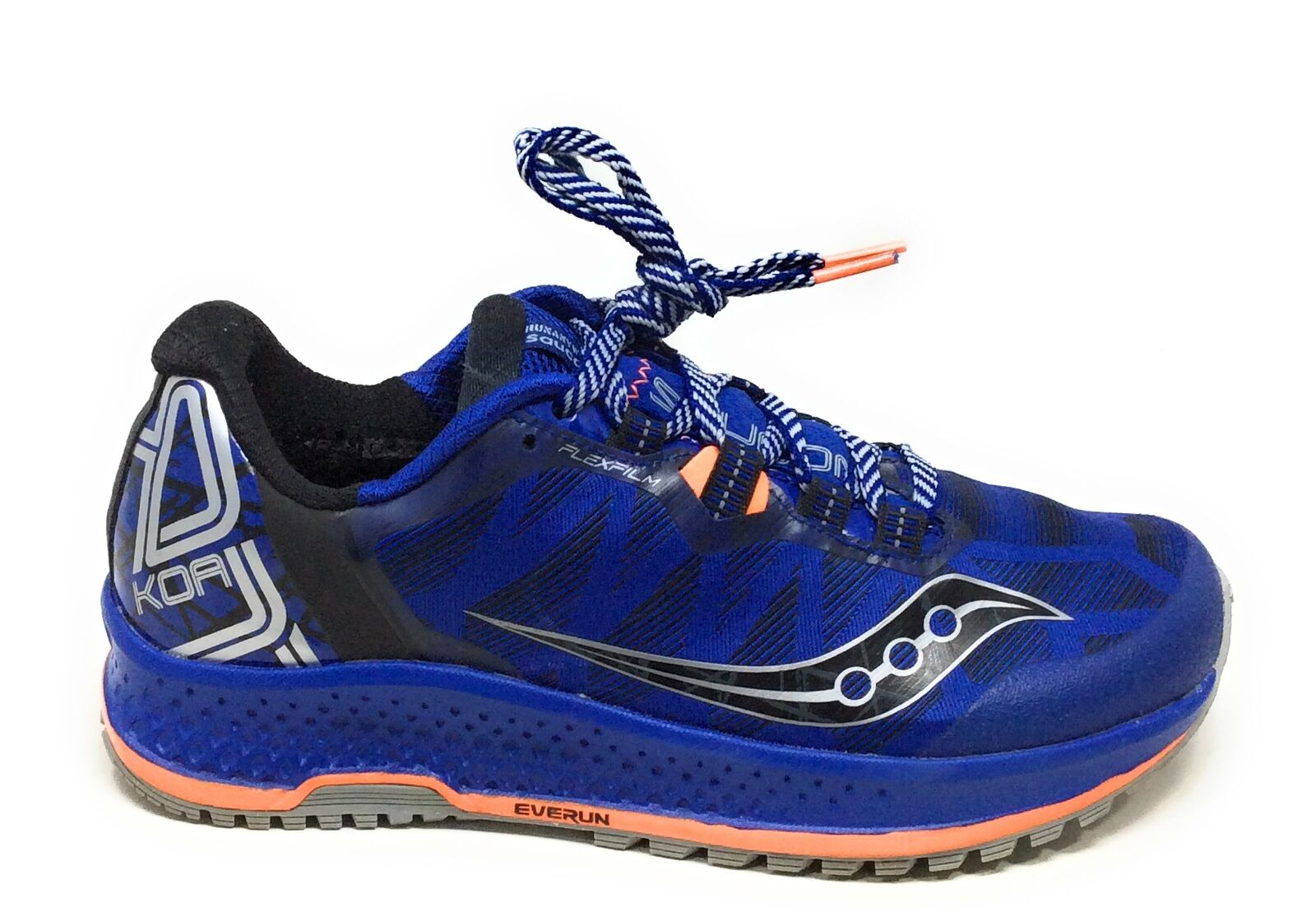 Saucony Mens KOA TR Trail Running Sneaker shoes bluee orange Size 7 M US