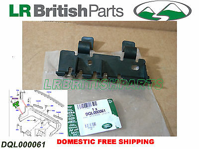 GENUINE LAND ROVER REAR BUMPER MOUNTING BRACKET LR3 LR4 RH DQL000061 NEW OEM