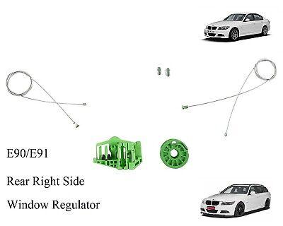 BMW 3 Series E90 E91 Window Regulator Repair Kit Rear Left Door 2006-2011