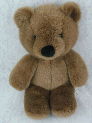 Ikea Of Sweden Teddy Bear Brown 12 Quot Black Nose Soft Cuddly