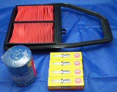 Cooperativa Per Honda Civic 1.6i Eu6 01-06 3 Pz Kit Manutenzione, Olio Filtro Aria E Candele