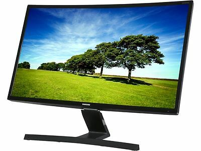 "SAMSUNG S27E510C Black 27"" Curved 4ms (GTG) HDMI Widescreen LCD/LED Monitor , 25"