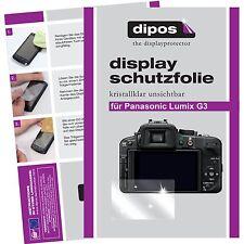 6x dipos Panasonic Lumix DMC G3 Protector de Pantalla transparente