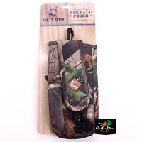 Drake Waterfowl Ol Tom Turkey Box Call Pouch Case Cover Hardwoods Green Camo