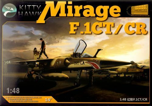 Kitty Hawk 1 48 Dassault Mirage F.1CT CR