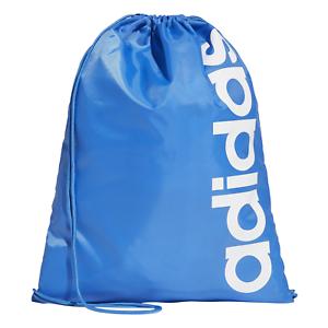 Adidas-Sports-Bag-Gym-Bag-Linear-Core-Gym-Bag-Gym-Sack-Bag-Blue