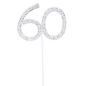 LEORX Cake Topper for 60th Wedding Anniversary Birthday Party