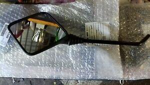 Vespa-Square-Black-Headset-Mounted-Mirror-set-Genuine-Piaggio-T5-PX-NEW