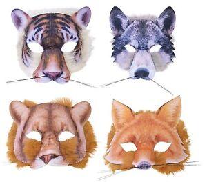 Tigre-Lobo-Leon-O-Fox-Piel-Mascara-Animales-y-Naturaleza-Disfraz