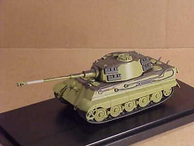 Henschel//Porsche Sd.Kfz.182 King Tiger 1:72 Tank Eaglemoss Diecast
