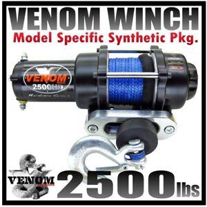 2500LB VENOM ATV WINCH 2014 HONDA RANCHER 420 2x4 FA FE FM ...