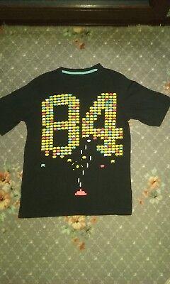 Glorioso Vintage 80s Novità T-shirt (space Invaders)-mostra Il Titolo Originale