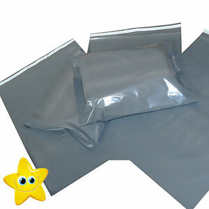 3795da968e58 Strong Grey Mailing Post Mail Postal Bags Poly Postage Self Seal All Sizes  Cheap - STAR