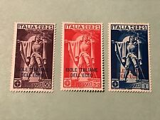 Italy Aegean Islands Sc. C1-3, 1930    Unused Lot C01892