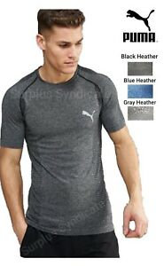 New-PUMA-Mens-Fitness-Workout-Shirt-Athletic-Fit-Various-sizes-colors-DryCELL