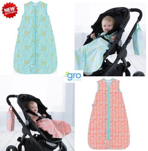 New Grobag 0.5 Tog Summer Travel Sleeping Bag Baby Toddler Sleep Sack Boy /& Girl