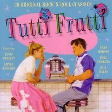 Tutti Frutti-26 Rock'n'Roll Classics Little Richard, Chuck Berry, Fats Do.. [CD]