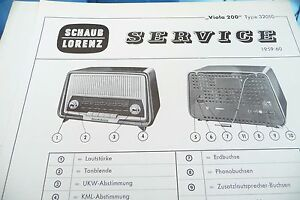 32010 Ein Unverzichtbares SouveräNes Heilmittel FüR Zuhause Tv, Video & Audio Sinnvoll Service Manual-anleitung Für Schaub-lorenz Viola 200