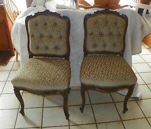 Pair-of-Walnut-Carved-Parlor-Chairs-Sidechairs-SC239