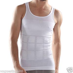 8ffa5d660232e Men Firm Tummy Belly Buster Control Slimming Body Shaper Vest ...
