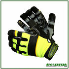 Arborist Rope Gloves For Climbing,Silicon Palm,Aramid Protection Back Of Hand