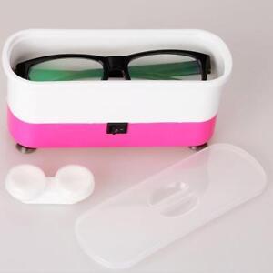 2-in-1-professionelle-Ultraschall-Brillenreiniger-Reinigungsmaschine-Neu-s