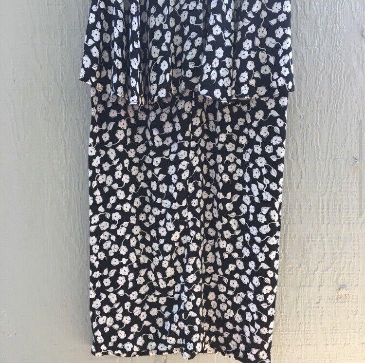 Anna Sui Vintage 1990s Floral Dress. - image 5