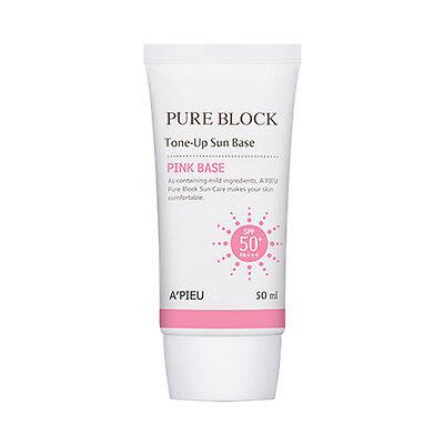 [A'PIEU] Pure Block Tone Up Sun Base - 50ml (SPF50+PA+++)