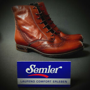 Semler 4 Ankle Boots Stiefelette Stiefel Details Neu Cognac 37 Damen Zu Braun Select dxoQCBeErW