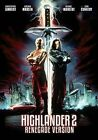 Highlander 2 The Quickening Renegade Version Region 1 DVD