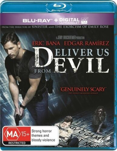 1 of 1 - Deliver Us From Evil (Blu-ray, 2014)