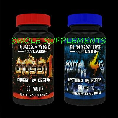 OUT OF PRODUCTION * CHOSEN 1 + BRUTAL 4CE by Blackstone Labs * MASS & STRENGTH