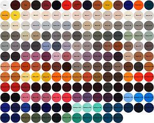 4bc754e16a3586 Das Bild wird geladen Lederfarbe-177-Farben-40ml-PARVA