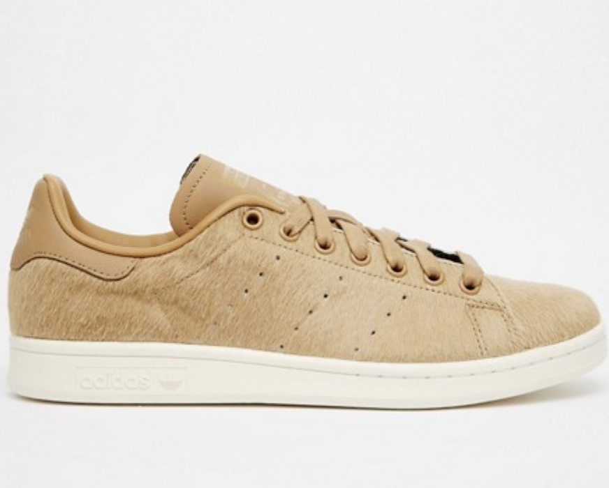 Adidas Originals Stan Smith Pony Effect ® ( UK 4.5  EUR  37.5 ) Cardboard braun